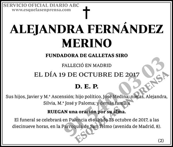 Alejandra Fernández Merino